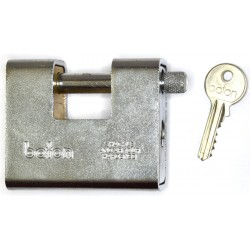 Baton Anvil block armored padlock
