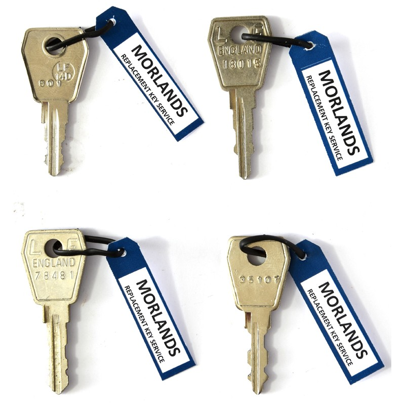 L&F 800, 18, 78 & 35 series keys