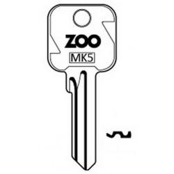 Zoo key blank for MK5