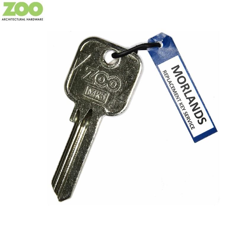 MK5 Zoo key blank