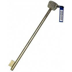 SMP safe key blank, 197mm.