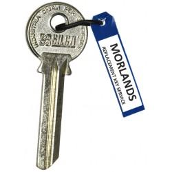 Zeni, Silca CA10R Key Blank