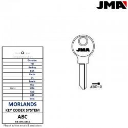 JMA ABC-2 key blank