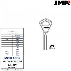 JMA ABL4 key blank