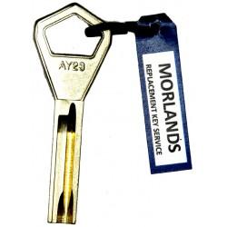 Abloy Silca AY23 Key Blank
