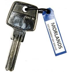JMA ABU16 key blank for Abus