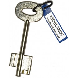 Alpha safe key blank