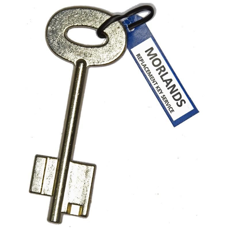Alpha safe key blank