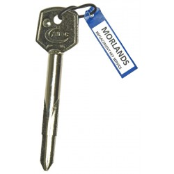 ASEC Cruciform key blank, 84mm