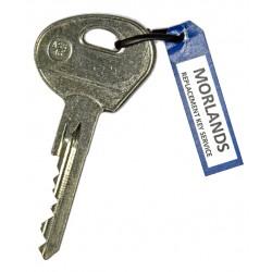 Saab key Assa ignition