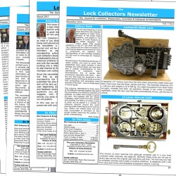The Lock Collectors Newsletter, back issue set