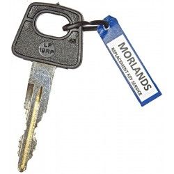 Land Rover ignition key
