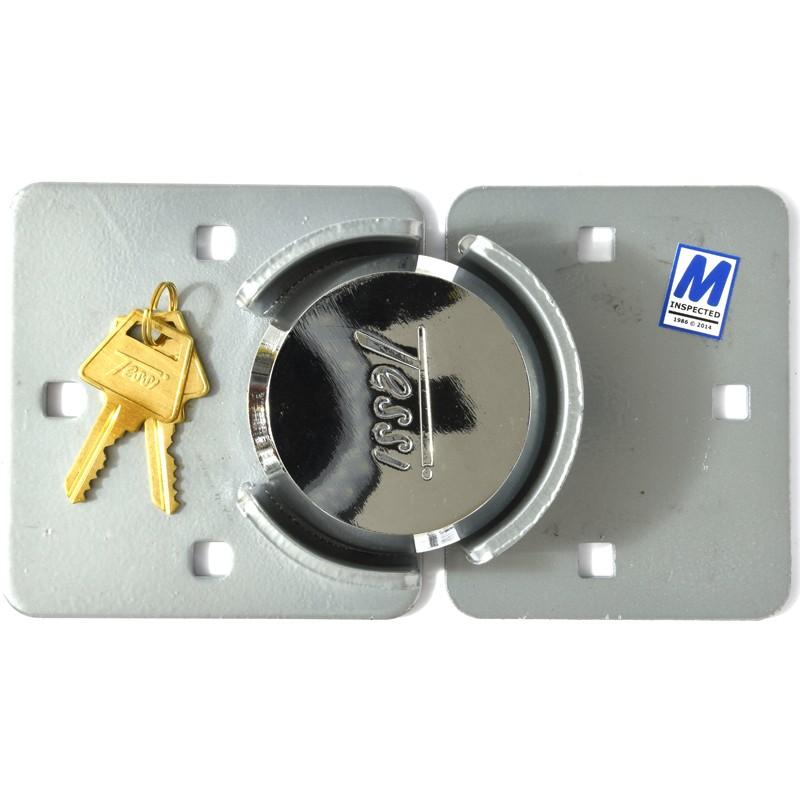 TESSI TE730 Hasp & Padlock Van Lock Set