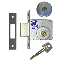 Papaiz mortice deadlock cruciform key