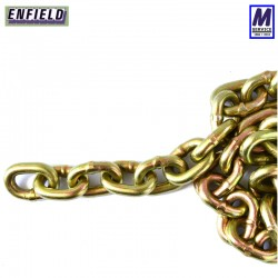 Through Hardened security chain, 10mm x 1.5m