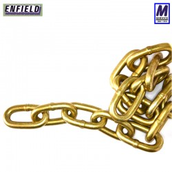 Through hardened security chain with 14mm link diameter