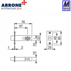 Arrone Ar8018 dimensions