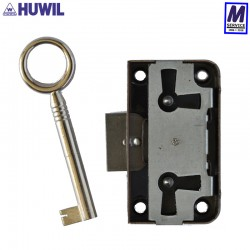 Huwil lay-on lock, 15mm