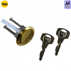 Yale 1109 rim cylinder brass face