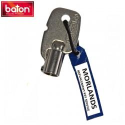 Baton Radial Pin Tumbler key blank