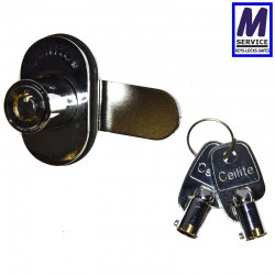 Ceilite Glass Door Cam Lock
