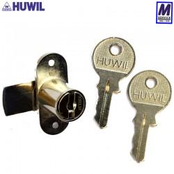Huwil wing cam lock