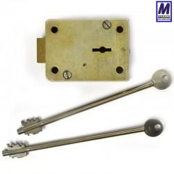 PLC 9 lever safe lock