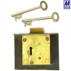 Flange Safe Lock