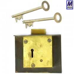 Flange Safe Lock