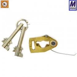 Kromer lever pack with detachable plain bits