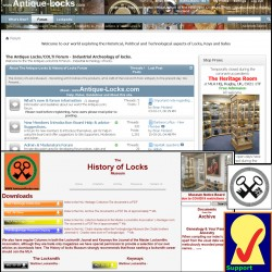 History of Locks Museum Supporters Group Membership